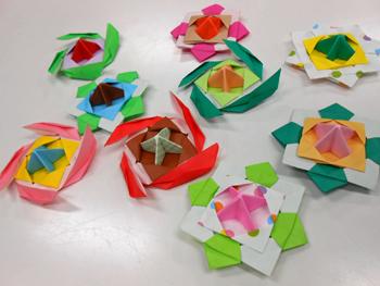 ハート 折り紙 折り紙でこまの作り方 : divulgando.net